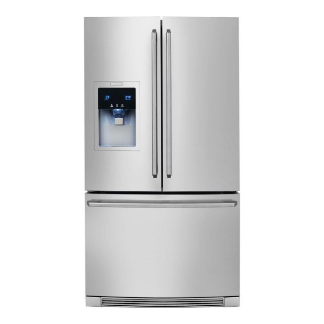 Electrolux Wave-Touch EW23BC85KS 21.74 cu. ft. French Door Refrigerator in Stainless Steel, Counter Depth