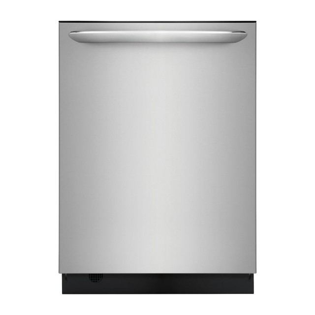 Frigidaire FGID2476SF Gallery Top Control Built-In Tall Tub Dishwasher in Smudge-Proof Stainless Steel with Stainless Steel Tub and OrbitClean
