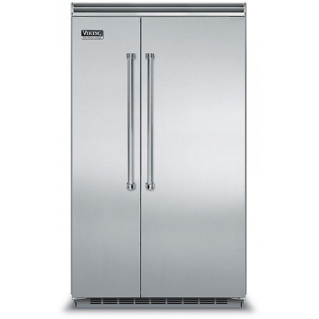 Viking VCSB5483SS Professional 5 Series  48 In. Built-in Side by Side Refrigerator in Stainless Steel