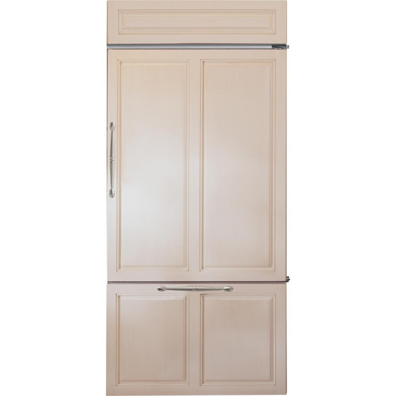 GE Monogram ZIC360NHRH 36 In. 21.33 Cu. Ft. Counter Depth Bottom Freezer  Refrigerator, Right Hinge, ...