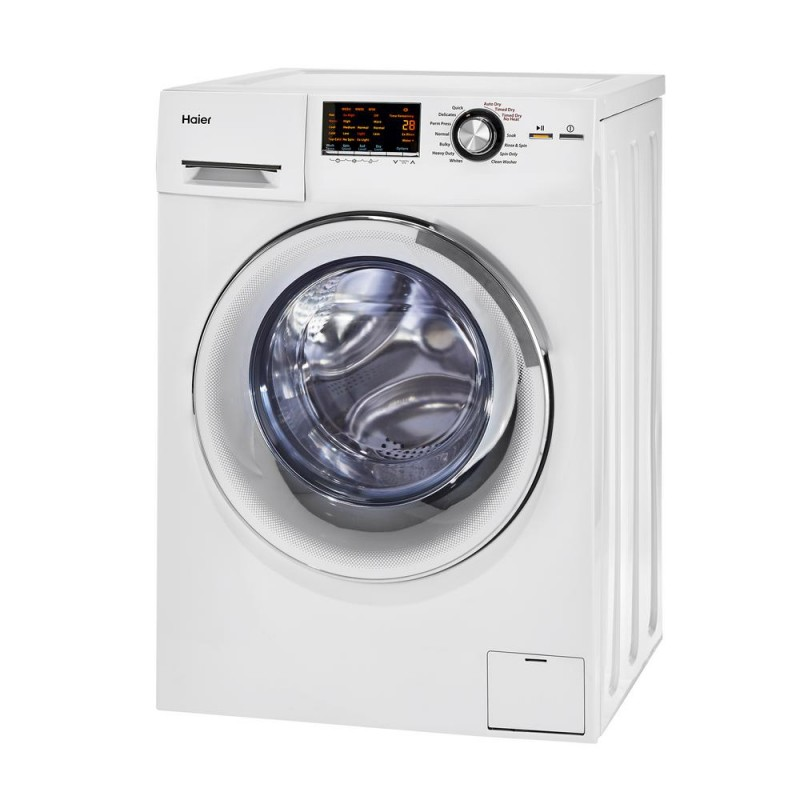Haier HLC1700AXW 24 In. 2 Cu. Ft. Smart Ventless Washer