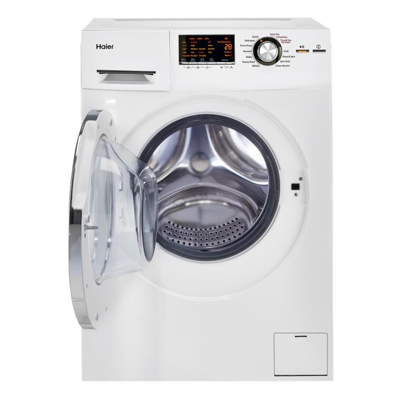 Haier Hlc1700axw 24 In 2 Cu Ft Smart Ventless Washer