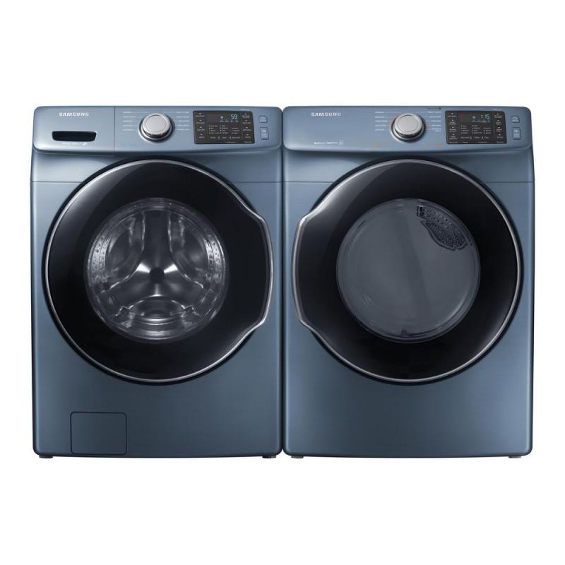 Samsung Set Dvg45m5500z 7 5 Cu Ft Gas Dryer Wf45m5500az