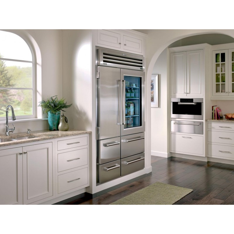 sub zero 648prog 48 in 30 2 cu ft built in side by side. Black Bedroom Furniture Sets. Home Design Ideas
