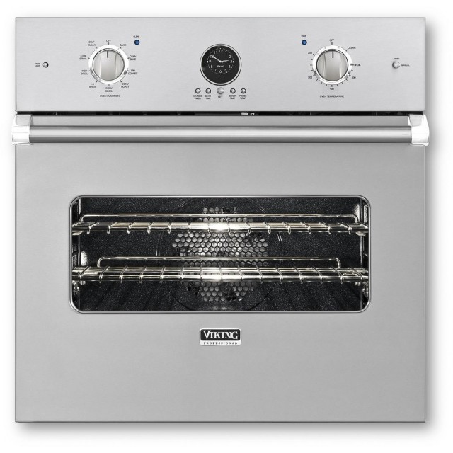 Viking 5 Series VESO5272SS 27 In. 4.1 cu. ft. Electric Single Wall Oven, Convection, Delay Bake in Stainless Steel