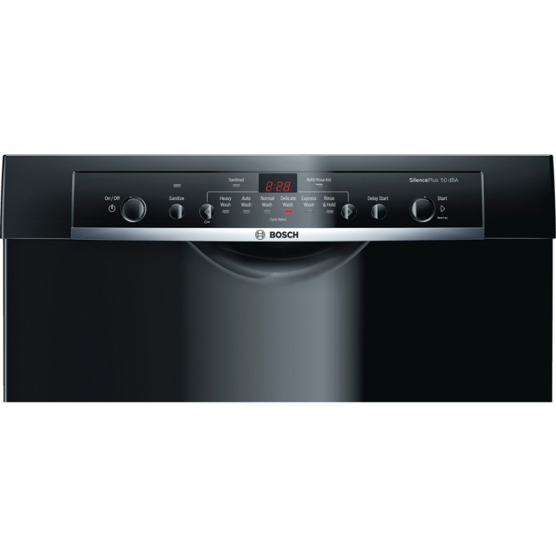 Bosch Ascenta She3arf6uc 50 Decibel Built In Dishwasher Black