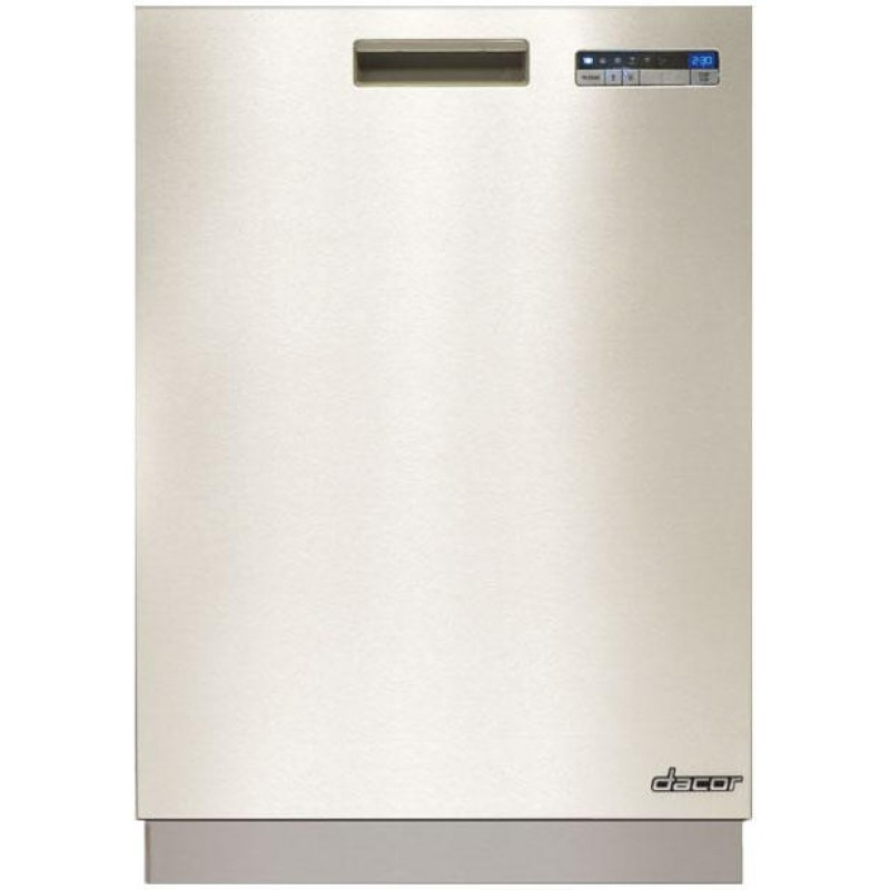 Dacor dyf42sbiws 42 in built in side by side refrigerator for Dacor 42 refrigerator