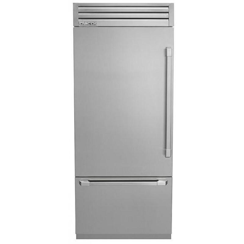Dacor 36 In Dyf36bftsl Built‑in Bottom Freezer