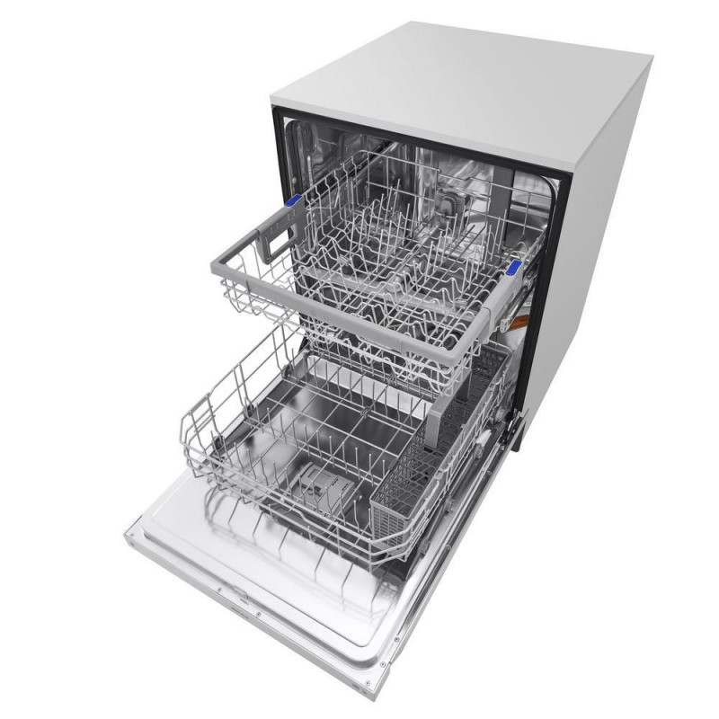 lg ldf5545st front control dishwasher in stainless steel
