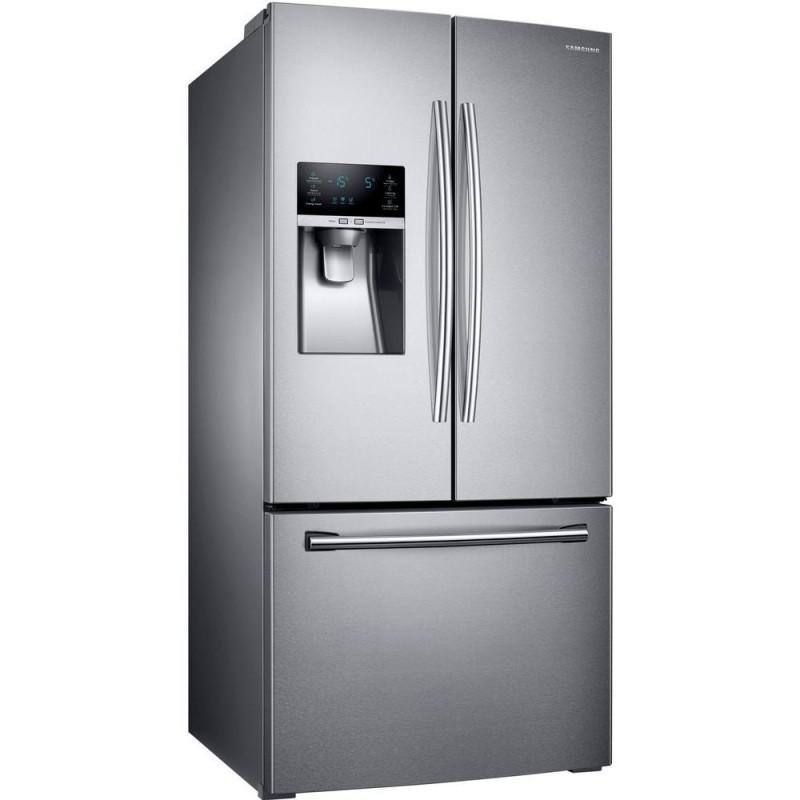 25 8 Cu Ft 5 Door French Door Refrigerator: Samsung RF26J7500SR 33 In. W 25.5 Cu. Ft. French Door Refrigerator In Stainless Steel