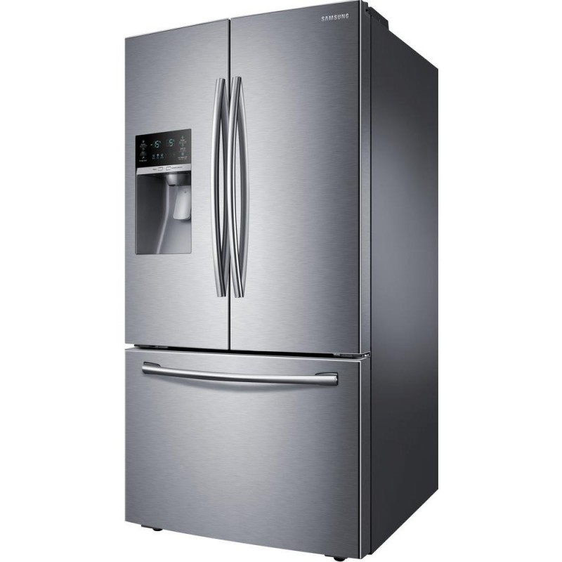 Samsung Rf28hfedtsr 2807 Cu Ft French Door Refrigerator In