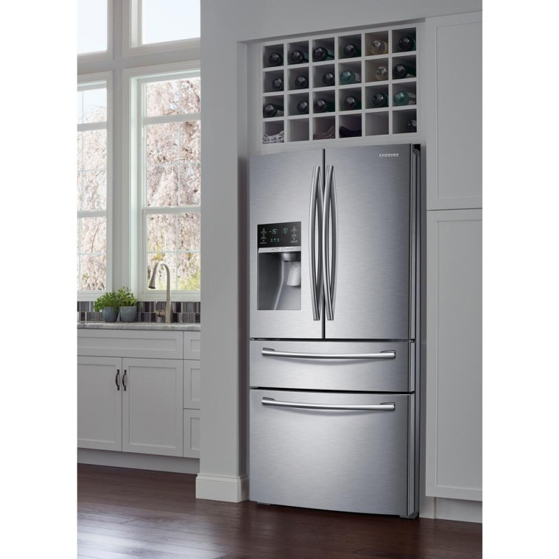 Samsung Rf28hmedbsr 28 15 Cu Ft 4 Door French Door