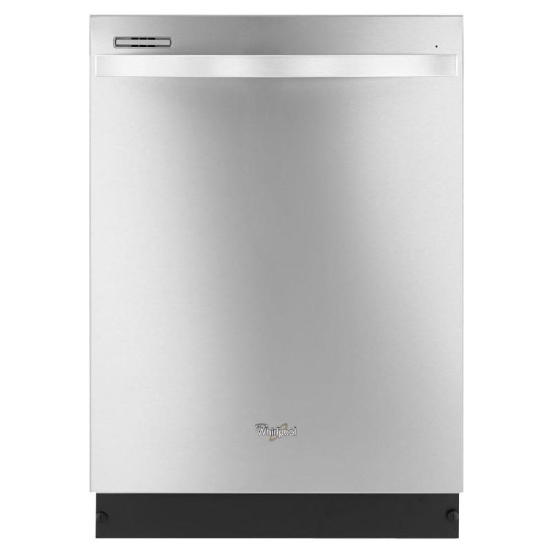 monochromatic stainless steel. Whirlpool Gold Series WDT720PADM Top Control Dishwasher In Monochromatic Stainless Steel With Silverware Spray E