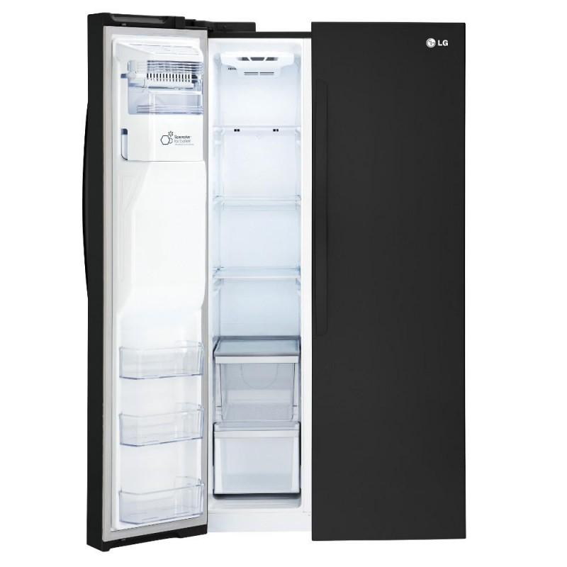 lg lsxs26326b cu ft side by side refrigerator in. Black Bedroom Furniture Sets. Home Design Ideas