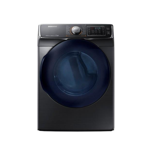 Samsung DV45K6500GV 7.5 cu. ft. Gas Dryer with Steam in Black Stainless Steel, ENERGY STAR