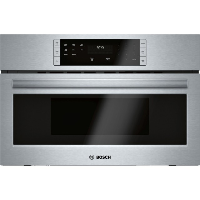 Bosch 500 Series HMB50152UC 1.6 cu. ft. Built-in Microwave with Sensor Cooking Controls in Stainless Steel