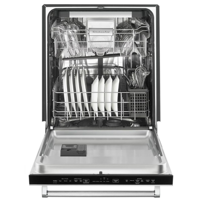 kitchenaid kdte204gps top control builtin tall tub dishwasher in printshield stainless steel