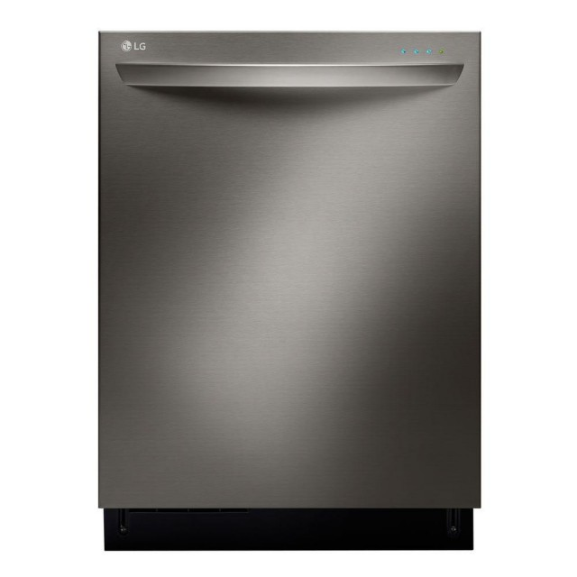 LG LDT9965BD Top Control Dishwasher with 3rd Rack and Steam in Black Stainless Steel with Stainless Steel Tub