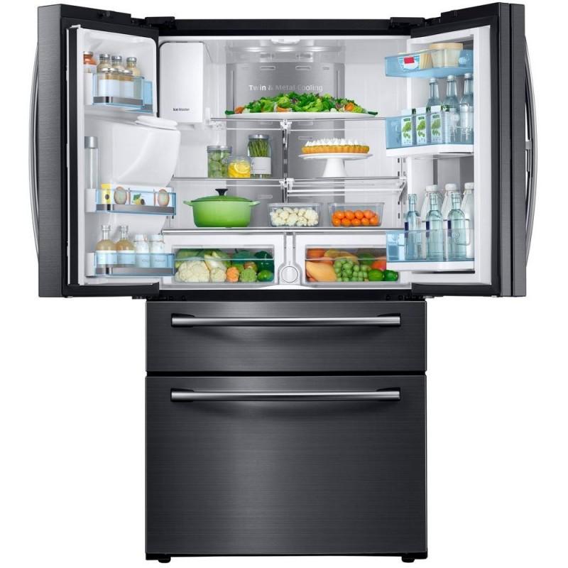 Samsung Rf22kredbsg 22 4 Cu Ft Food Showcase 4 Door