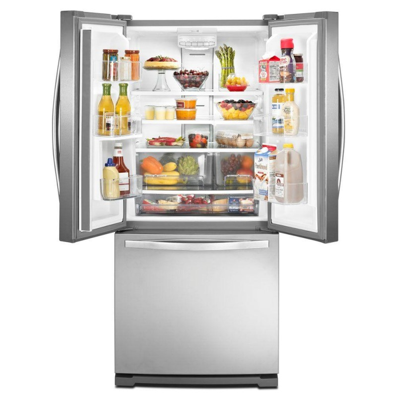Whirlpool Wrf560smym 30 In W 19 7 Cu Ft French Door