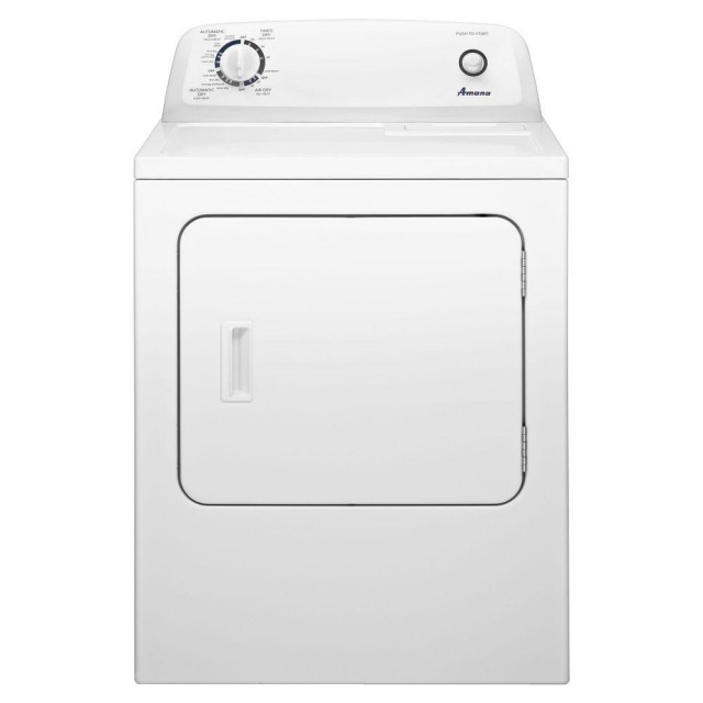 Amana NGD4655EW 6.5 cu. ft. Gas Dryer in White