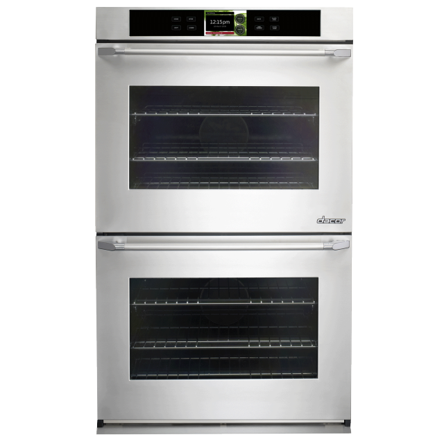Dacor Discovery DYO230PS 30 in. iQ Double Wall Oven in Stainless Steel with Pro Style Handle