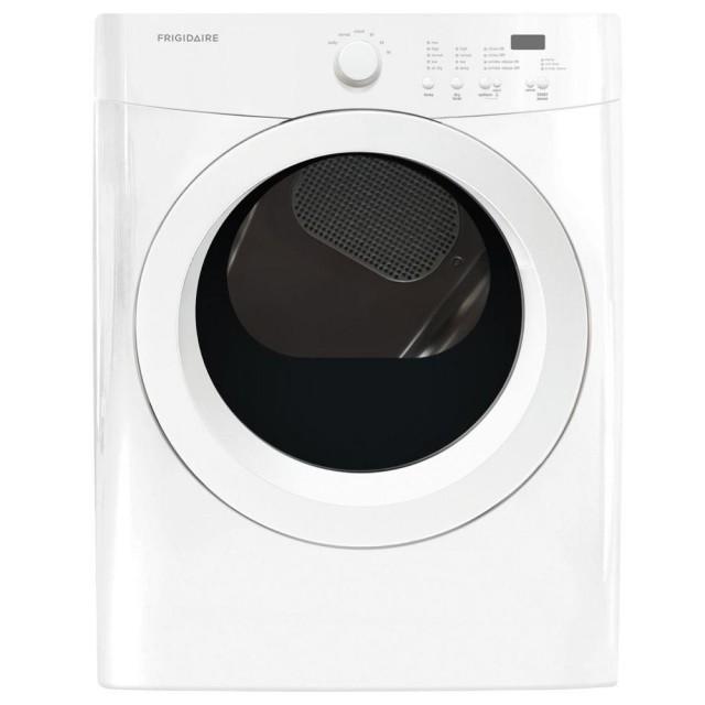 Frigidaire FFQG5000QW 7.0 cu. ft. Gas Dryer in Classic White