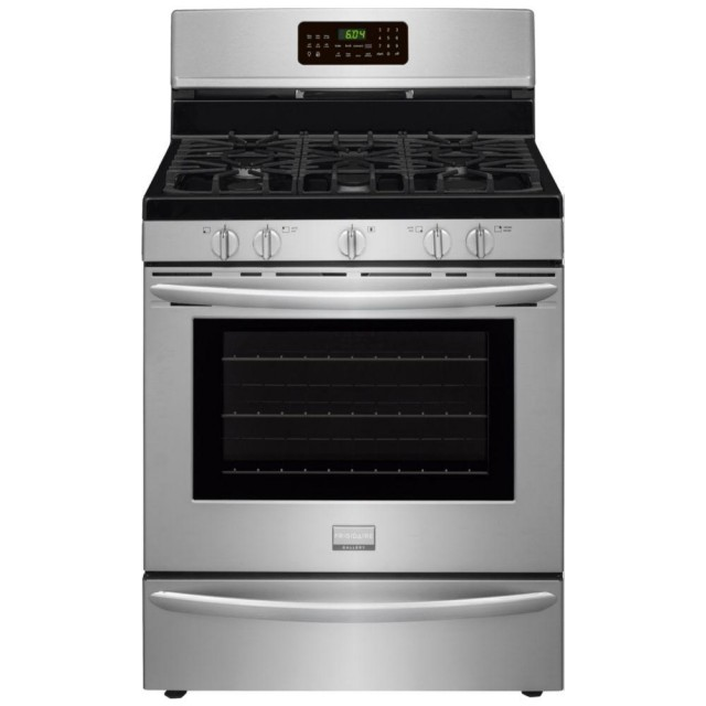 Frigidaire Gallery FGGF3058RF 5.0 cu. ft. Gas Range with Convection Self-Cleaning Oven in Stainless Steel