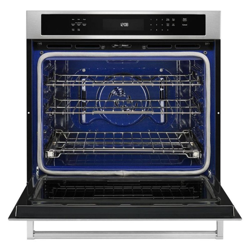Superbe KitchenAid KOSE500ESS 30 In. Single Electric Wall Oven Self Cleaning With  Convection In Stainless Steel