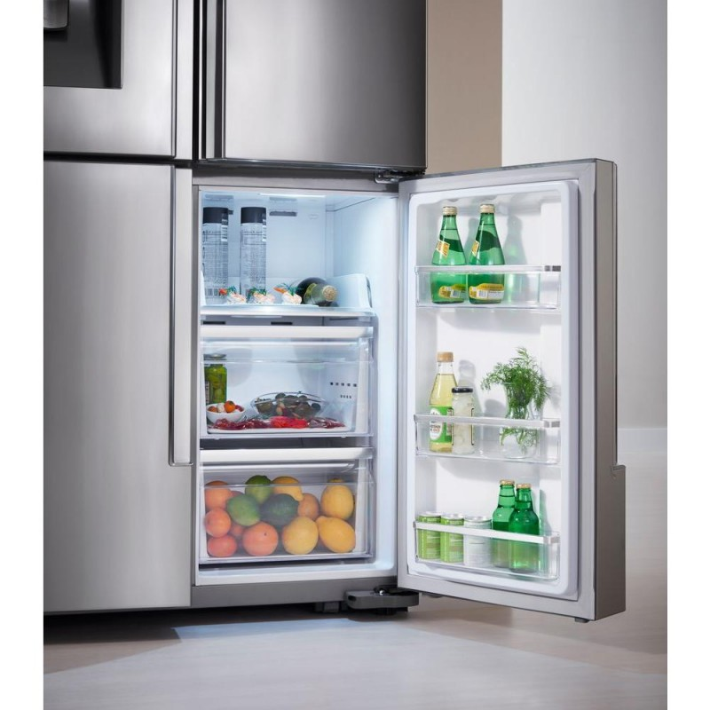 Samsung Rf28k9380sr 28 Cu Ft 4 Door Flex French Door Refrigerator