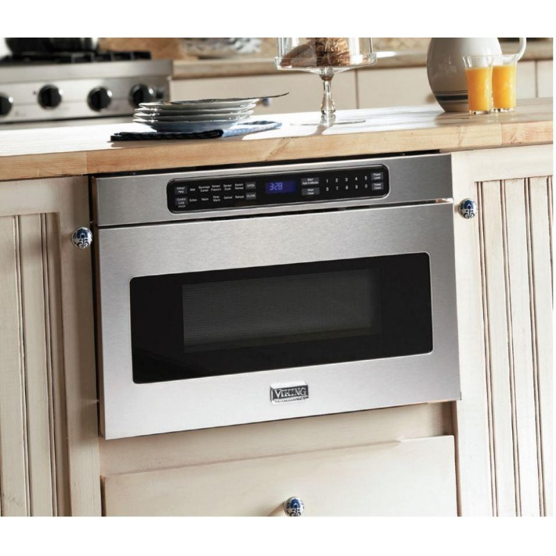Viking Professional 5 Series Vmod5240ss 1 2 Cu Ft 1000w Built Under In Microwave Stainless Steel