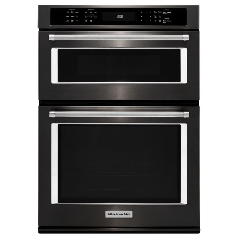 Kitchenaid Koce500ebs 30 In Electric Even Heat True Convection