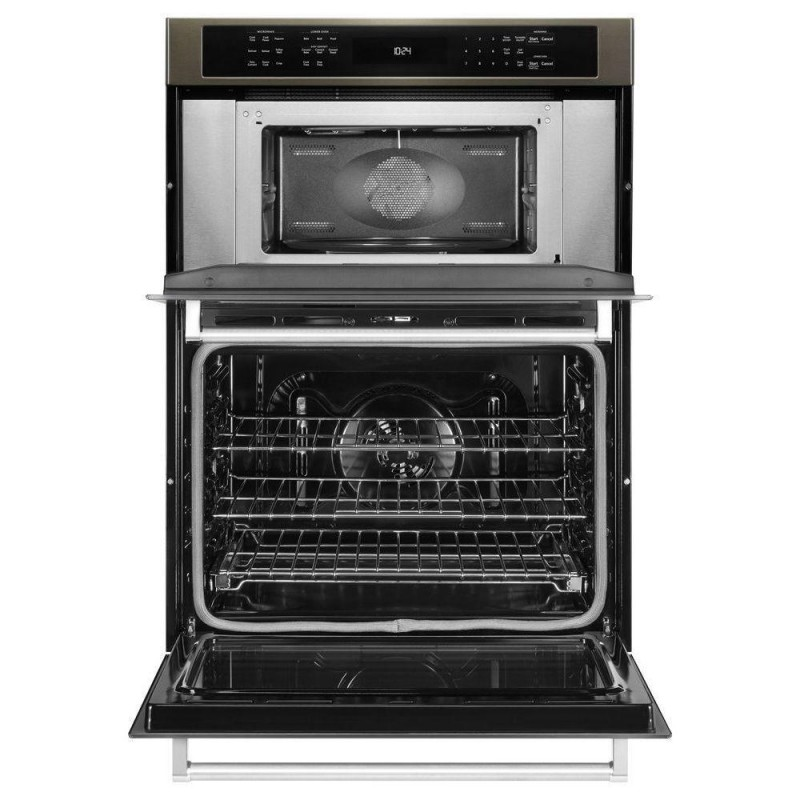 Kitchenaid Koce500ebs 30 In Electric Even Heat True