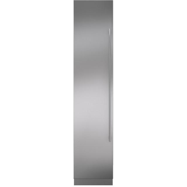Sub-Zero IC18FILH 18 Inch Smart Built In Counter Depth Freezer Column with 8.4 cu. ft. Capacity, Panel Ready Door, Left Hinge