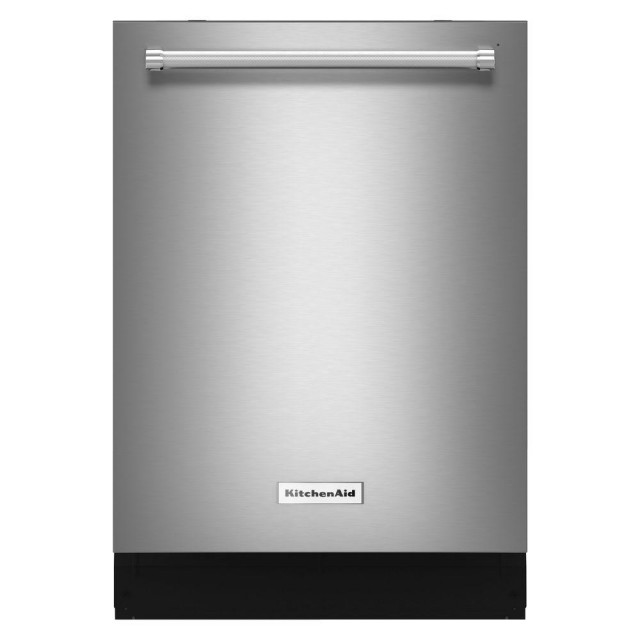 KitchenAid KDTM704ESS Top Control Dishwasher in Stainless Steel with Stainless Steel Tub and Dynamic Wash Arms, 44 dBA
