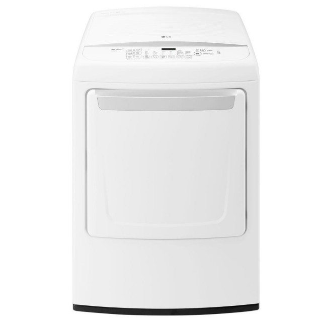 LG DLE1501W 7.3 cu. ft. Electric Dryer with Front Control in White