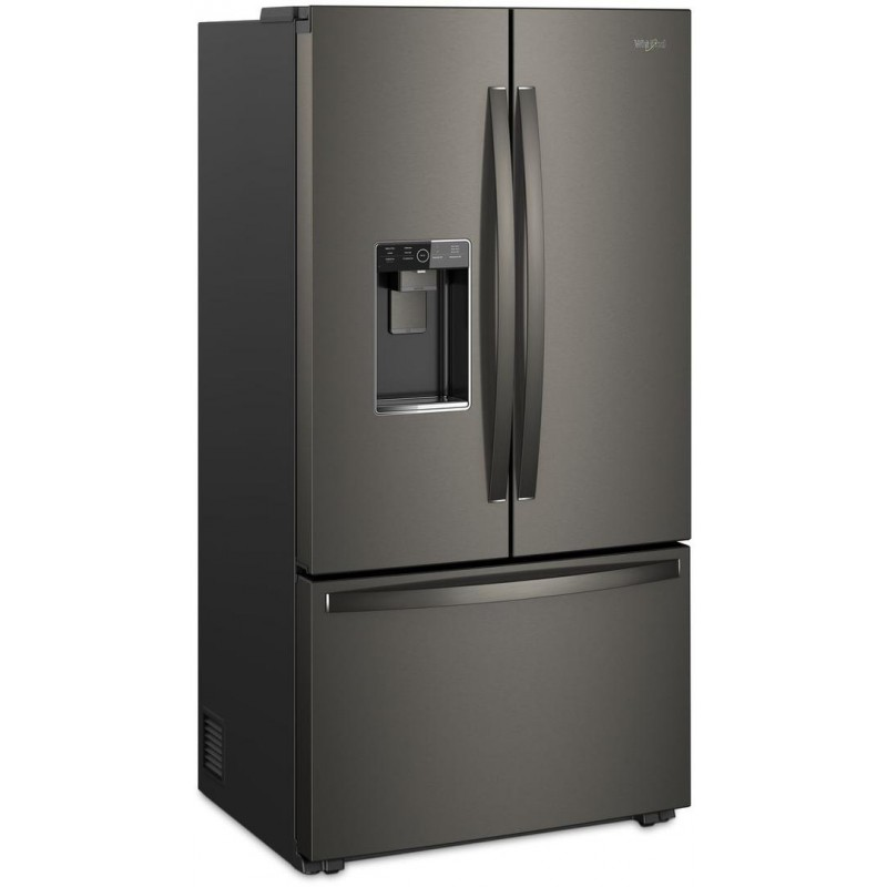 23 8 Cu Ft French Door Counter Depth: Whirlpool WRF954CIHV 36 In. Counter Depth French Door Refrigerator With 23.8 Cu. Ft. Total