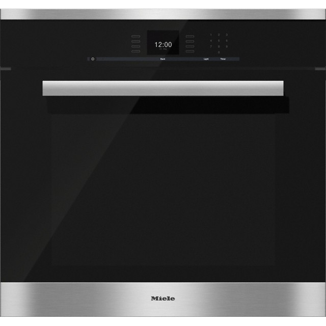 Miele H6680 BP 30 Inch Convection Oven with touch controls and MasterChef programs