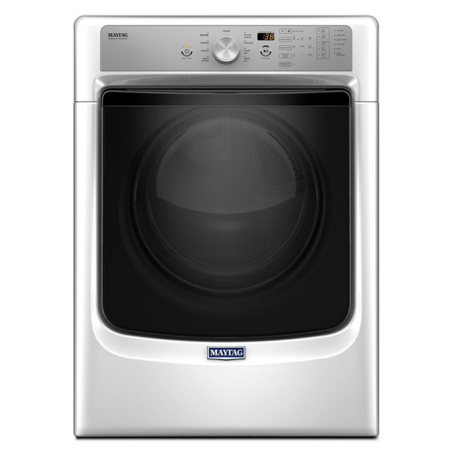 Maytag MGD5500FW 7.4-cu ft Stackable Gas Dryer (White)