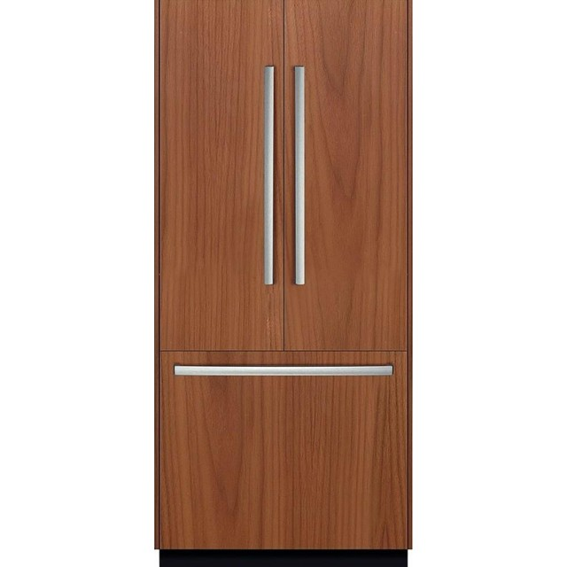 Bosch B36IT800NP Benchmark Series 36 Inch Built In Counter Depth French Door Refrigerator in Panel Ready