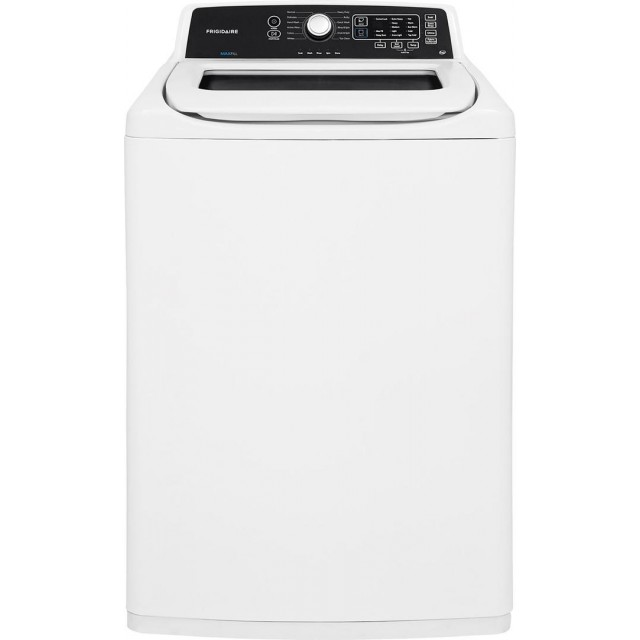 Frigidaire FFTW4120SW 27 Inch Top Load Washer with 4.1 cu. ft. Capacity, 12 Wash Cycles, 680 RPM, in White