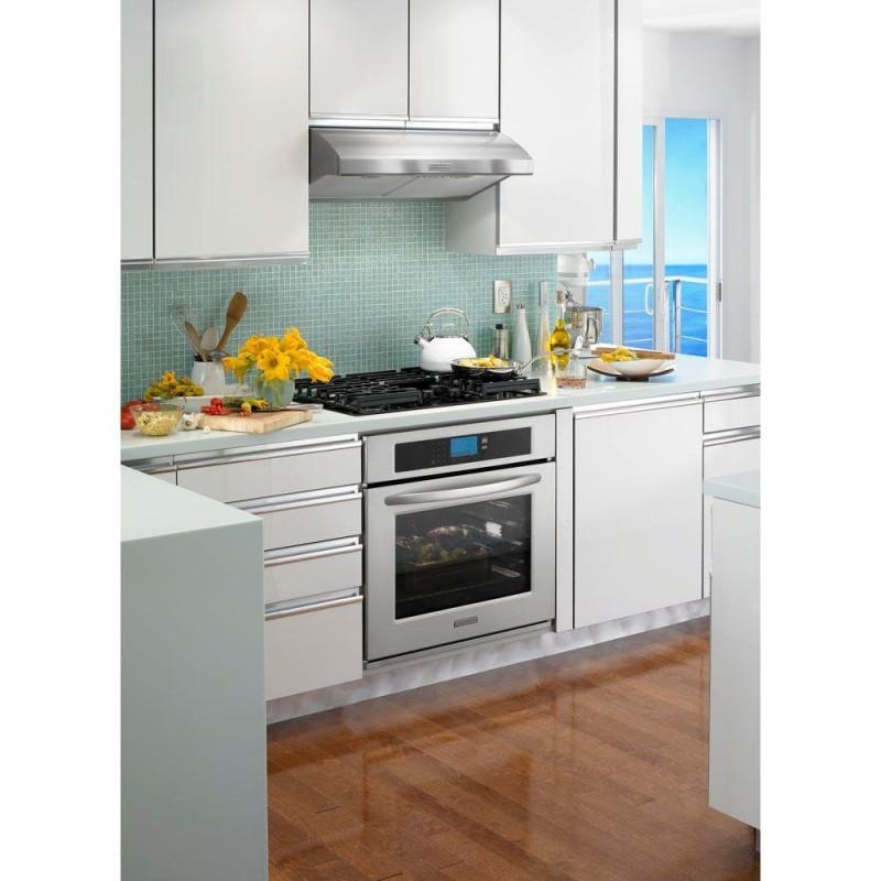 kitchenaid architect series ii kgcc506rbl 30 in gas on glass gas