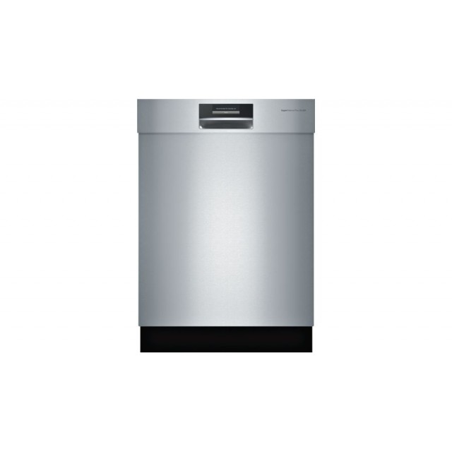 Bosch SHE9PT55UC Benchmark Series Semi-Integrated Dishwasher in Stainless Steel