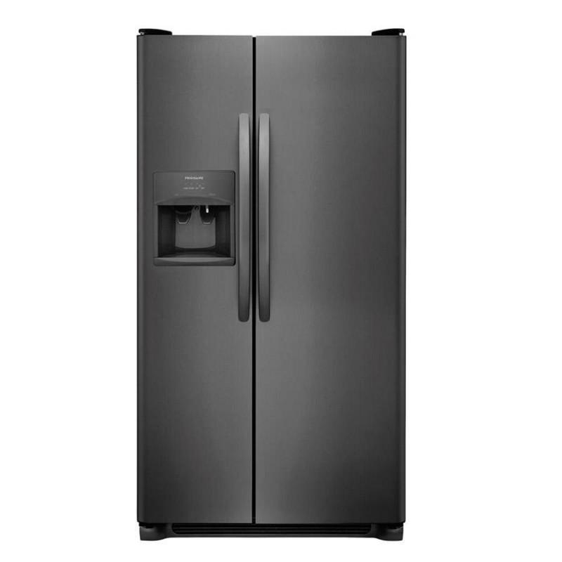 Frigidaire LFSS2612TD 25.5-cu Ft Side-by-Side Refrigerator