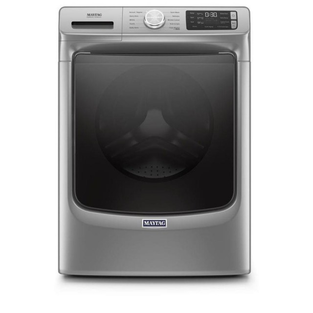 Maytag MHW5630HC 4.5-cu ft High Efficiency Stackable Front-Load Washer (Metallic Slate) ENERGY STAR