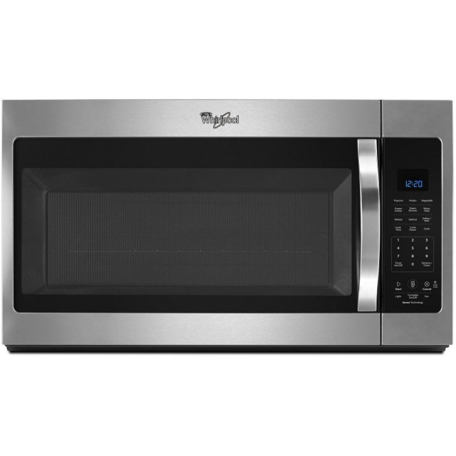 Whirlpool WMH32519FS 30 Inch Over the Range 1.9 cu. ft. Capacity Microwave Oven in Stainless Steel