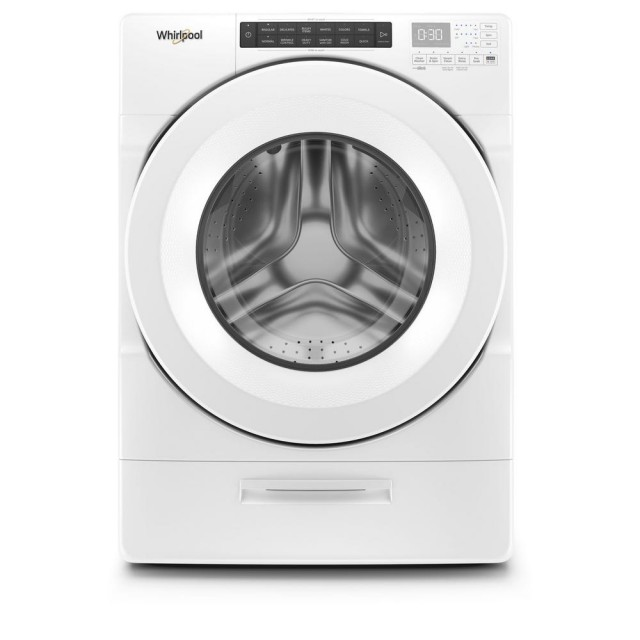 Whirlpool WFW5620HW 4.5 cu. ft. High Efficiency White Front Load Washing Machine with Steam and Load & Go Dispenser