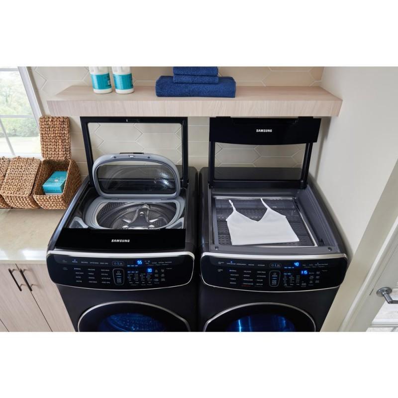 Samsung Wv60m9900av 6 0 Cu Ft Washer And Dvg60m9900v 7 5