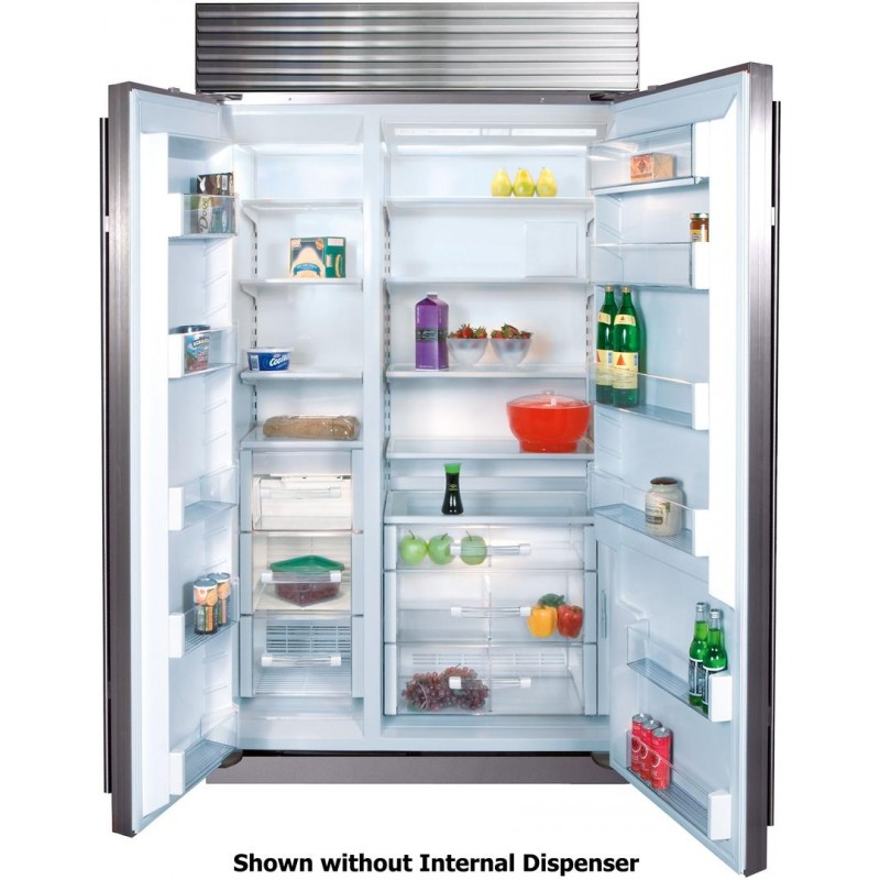 refrigerator with internal water dispenser kenmore subzero bi42sidsth 42 in 237 cu ft built in counter depth side by refrigerator internal water dispenser