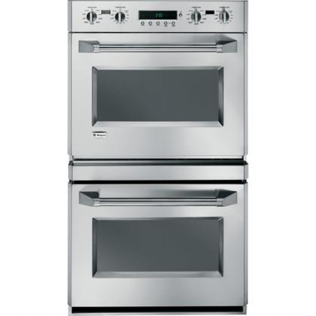 """GE ZET2PM4SS Monogram® 30"""" Built-In Professional Electric Convection Double Wall Oven in Stainless Steel"""